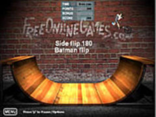 Bild zu Geschick-Spiel Bmx Ramp