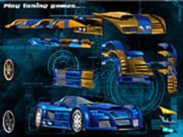 Bild zu Kinder-Spiel Blue Demon Car