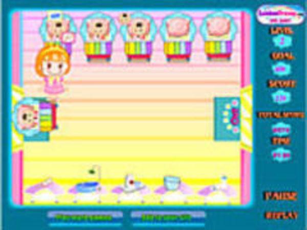 Bild zu Mädchen-Spiel A Million Babies