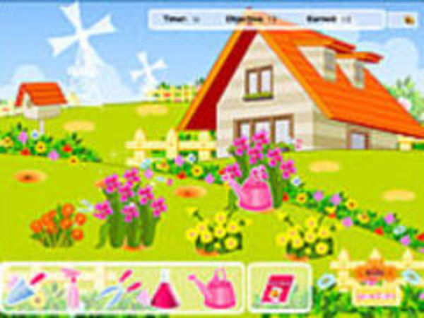 Bild zu Kinder-Spiel Flower Gardening