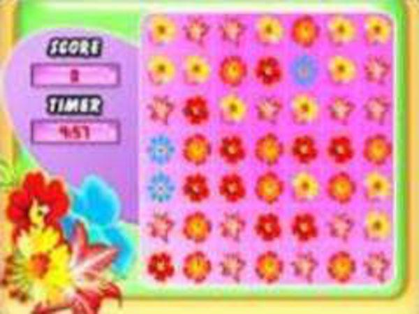 Bild zu Mädchen-Spiel Flower Frenzy