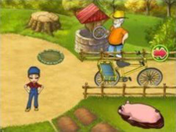 Bild zu Mädchen-Spiel Farm Mania