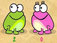 Klick den Frosch spielen