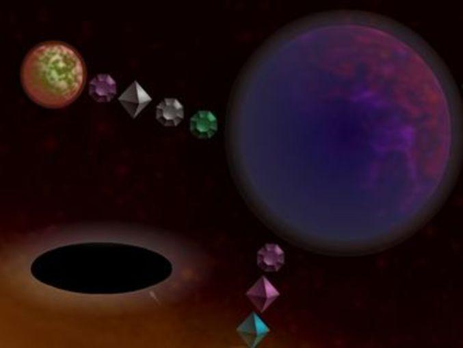 Galactic Gravity Golf
