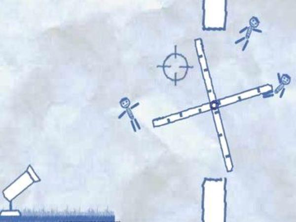 Bild zu Strategie-Spiel Ragdoll Cannon 4