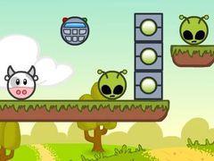 Cows vs Aliens spielen