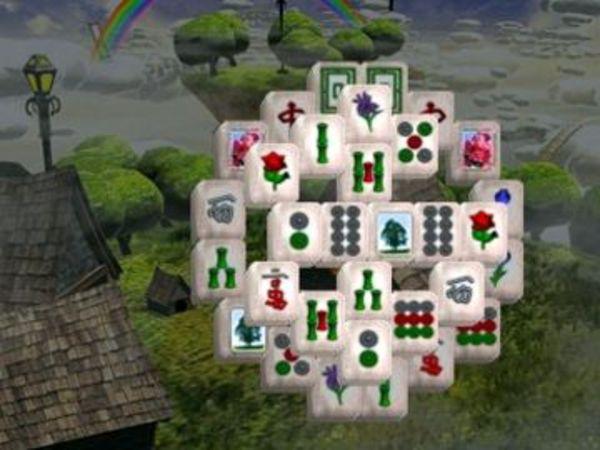 Bild zu Denken-Spiel Aerial Mahjongg