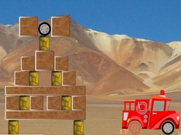 Bild zu Denken-Spiel Rollende Reifen 2