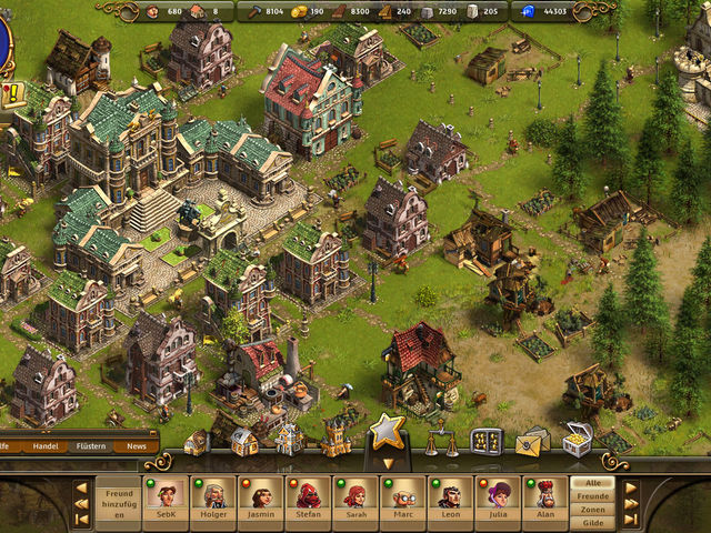Die Siedler Online Screenshot 1