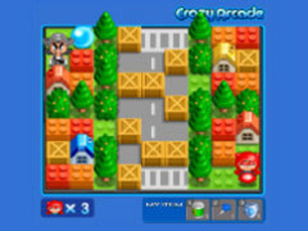 Bild zu Strategie-Spiel Crazy Bomberman