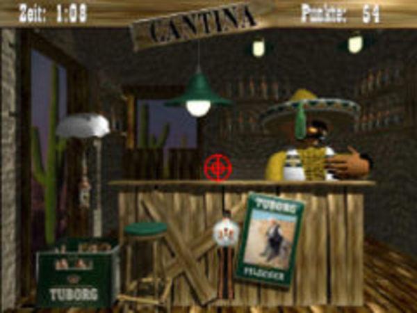 Bild zu Action-Spiel Tuborg Cantina