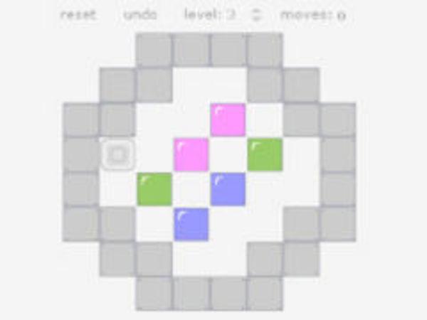 Bild zu Strategie-Spiel Colorsok