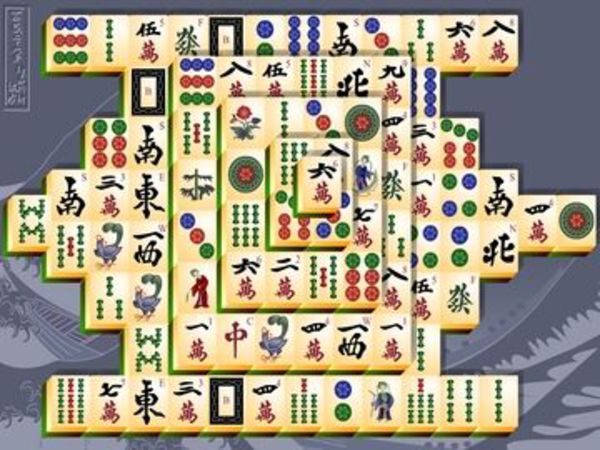 Bild zu Karten & Brett-Spiel Mahjongg
