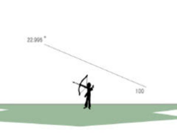 Bild zu Geschick-Spiel Bogenschiessen