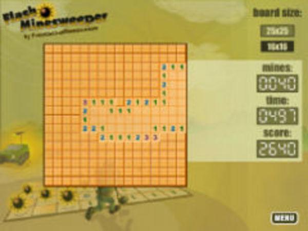 Bild zu Klassiker-Spiel Flash Minesweeper