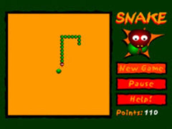 Bild zu Klassiker-Spiel Snake Apple