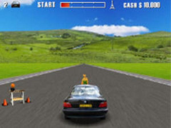 Bild zu Rennen-Spiel BMW Action
