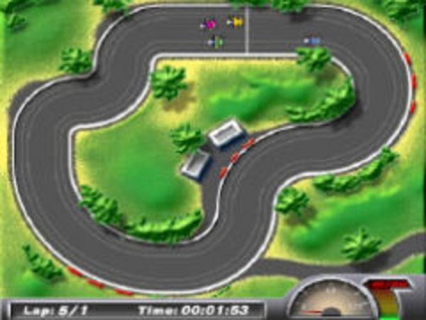 Bild zu Rennen-Spiel Micro Racers