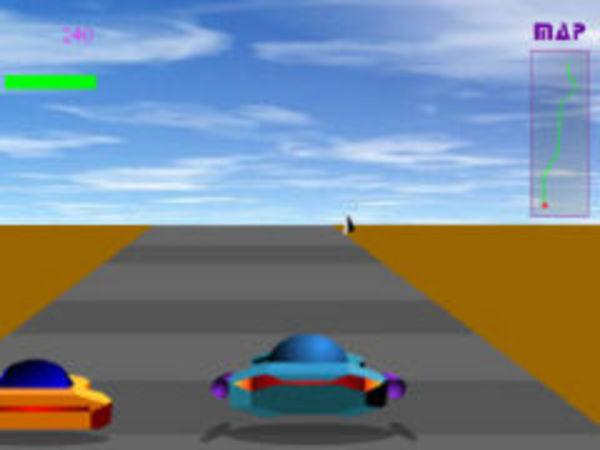 Bild zu Rennen-Spiel Rally 2100