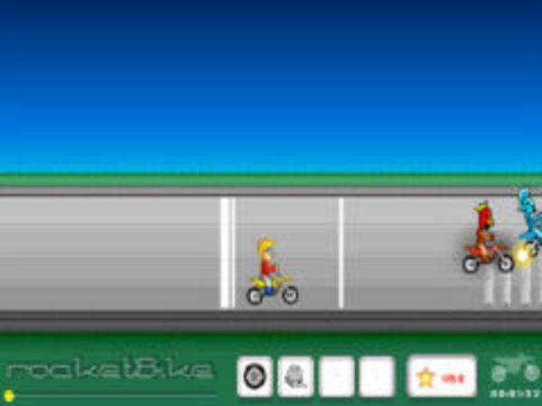 Bild zu Rennen-Spiel Rocket Bike