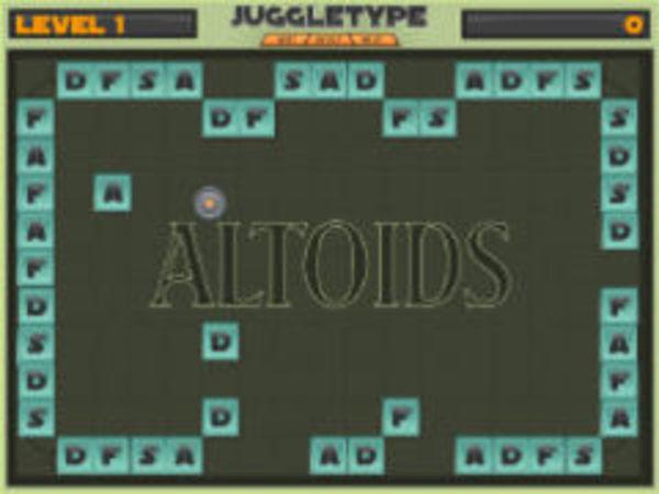Bild zu Denken-Spiel Juggle Type