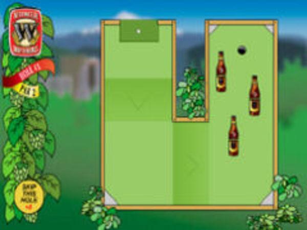 Bild zu Geschick-Spiel Bier Golf