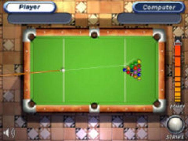 Bild zu Geschick-Spiel Pool Billard