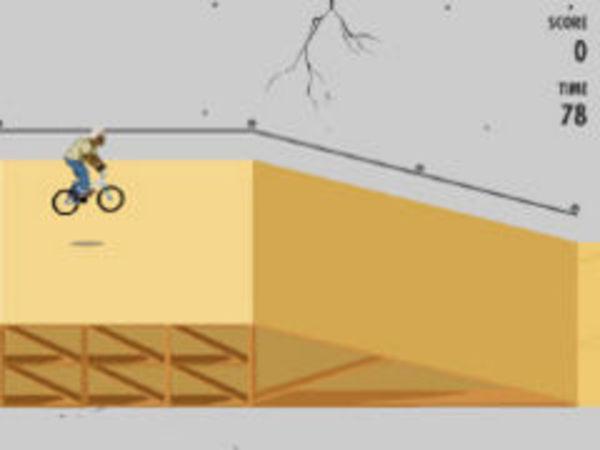 Bild zu Geschick-Spiel BMX Tricks