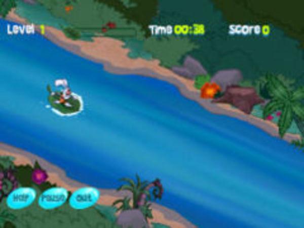 Bild zu Rennen-Spiel Leaf Boarding