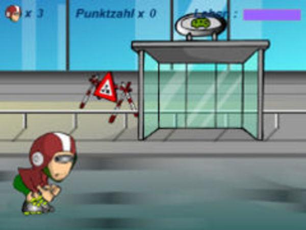 Bild zu Rennen-Spiel Roller Blade Academy