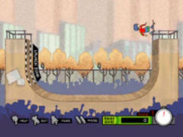 Bild zu Rennen-Spiel Skate Park