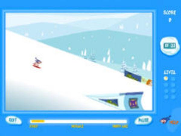 Bild zu Geschick-Spiel Snow Ride