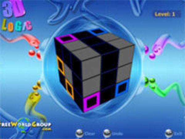 Bild zu Denken-Spiel 3d Logic Game