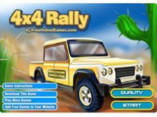 Bild zu Rennen-Spiel 4x4 Rally