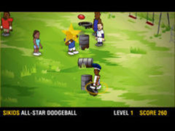 Bild zu Geschick-Spiel Völkerball