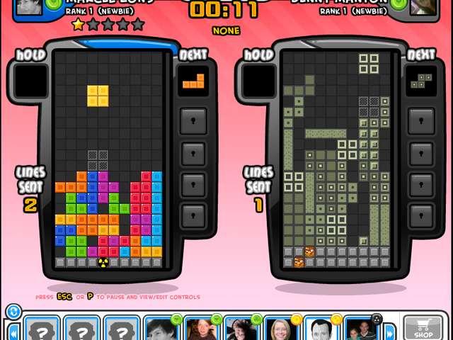 Tetris Battle Screenshot 1