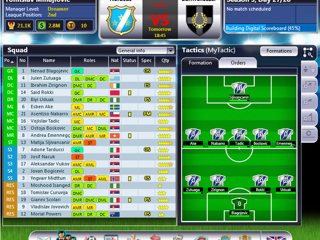 Top Eleven Screenshot 1