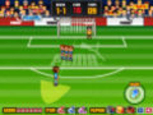 Bild zu Sport-Spiel Freekick Mania