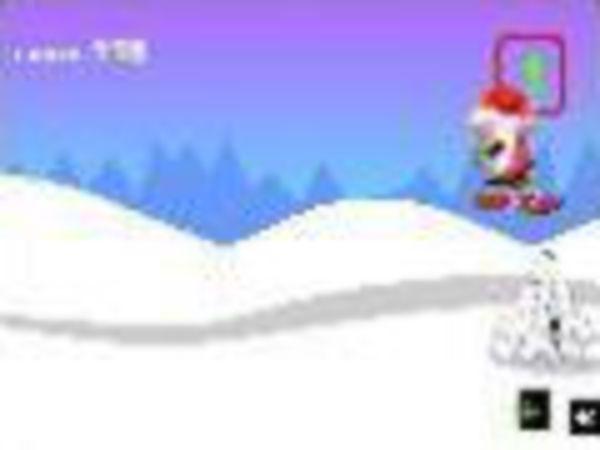 Bild zu Sport-Spiel Santa Snow Boards