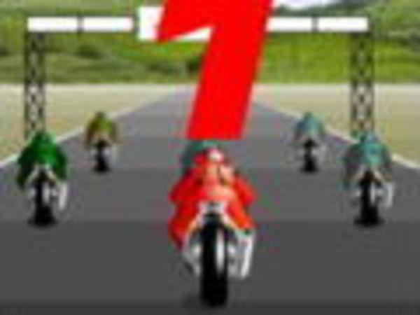 Bild zu Rennen-Spiel 123 Go Motorbike