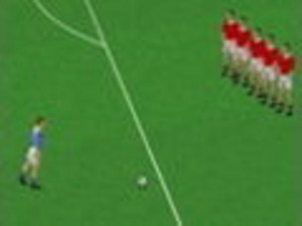 Bild zu Sport-Spiel Baggio Freistoß