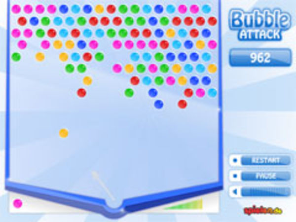 Bild zu Highscore-Spiel Bubble Attack Highscore