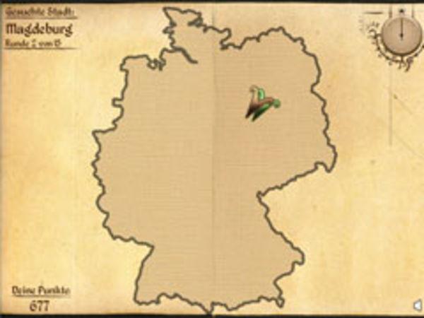 Bild zu Highscore-Spiel Geo-Quiz Deutschland