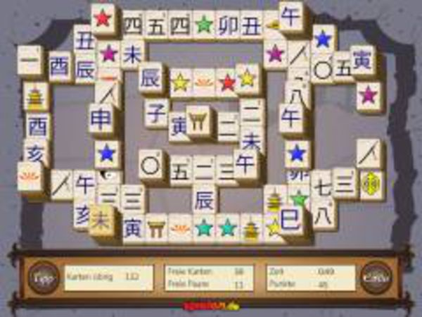 Bild zu Highscore-Spiel Mahjong-Solitaire