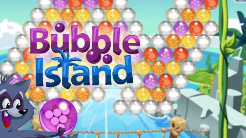 Spiele jetzt kostenlos das Alle-Spiel Bubble Island