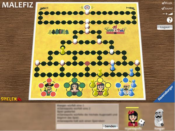 Bild zu Klassiker-Spiel Malefiz