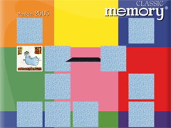 Bild zu Klassiker-Spiel Memory