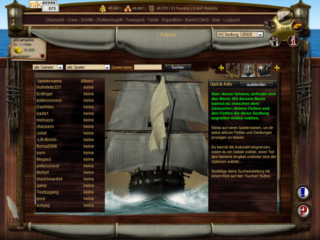 Pirates 1709 Screenshot 1