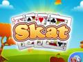 Gesellschaft-Spiel Skat spielen