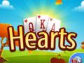 Gesellschaft-Spiel Hearts spielen